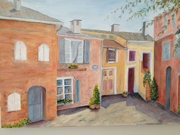 Carolyn Aliski - Courtyard