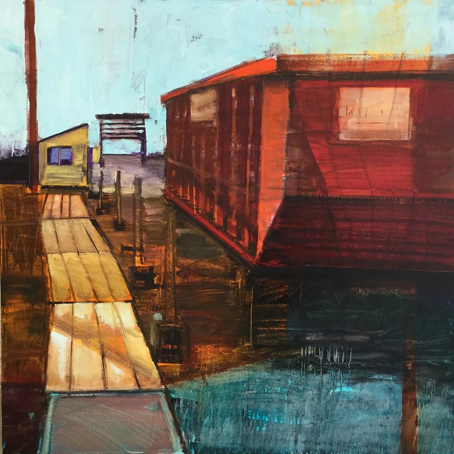 RAY_Boatyard II_2018_oil_30x30S