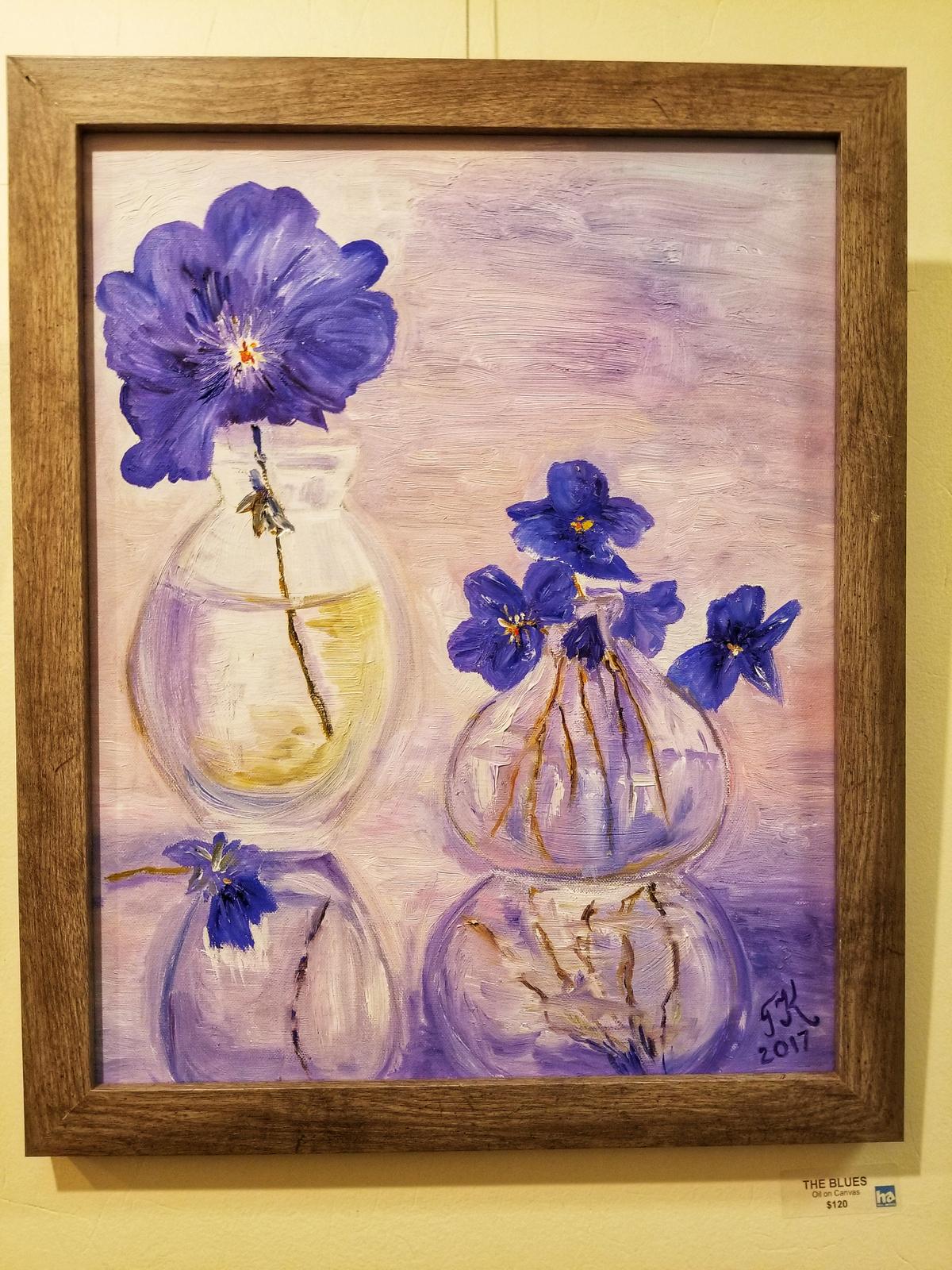 Krein pansey vase